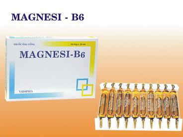 MAGNESI-B6 dạng ống uống