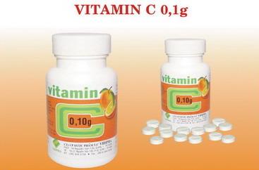 VITAMIN C 0,1G