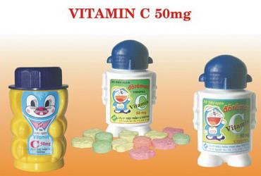 VITAMIN C 50MG