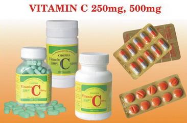 VITAMIN C 250MG-500MG