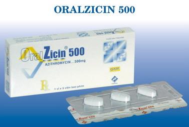 ORALZICIN 500