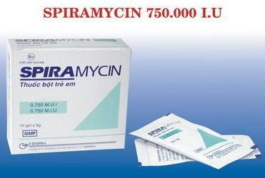 SPIRAMYCIN 750.000 I.U