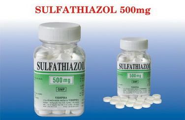 SULFATHIAZOL 500MG 2