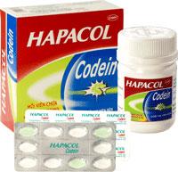 Hapacol Codein Thuốc giảm đau có kết hợp codein