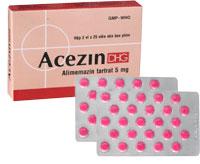 Acezin DHG Điều trị triệu chứng các trường hợp: Dị ứng hô hấp