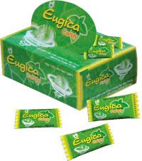 Eugica Candy Làm giảm các triệu chứng ho, đau họng. Sát trùng đường hô hấp.