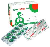 Terpin codein Fort Điều trị các chứng ho do viêm nhiễm đường hô hấp