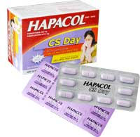 Hapacol cs day Thuốc giảm đau - hạ sốt