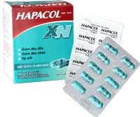 Hapacol XN giảm đau hạ sốt