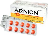 Arnion Điều trị các biểu hiện của tình trạng ức chế thể lực hoặc tâm thần