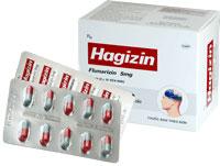 Hagizin Điều trị triệu chứng chóng mặt, hoa mắt, ù tai,.. do rối loạn tiền đình