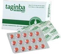 Taginba Điều trị rối loạn tuần hoàn não: suy giảm trí nhớ