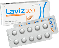 Laviz 100 ức chế virus viêm gan B ở người bệnh mãn tính.