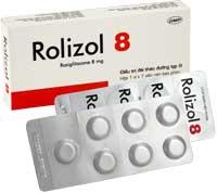 Rolizol 8 Điều trị đái tháo đường typ II