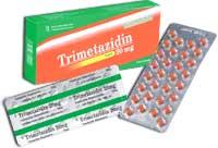 Trimetazidin Thuốc chống đau thắt ngực