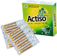 Actiso ống uống Lợi mật, lợi tiểu, nhuận tràng