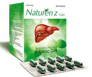 Naturenz Caps Tăng cường chức năng giải độc gan