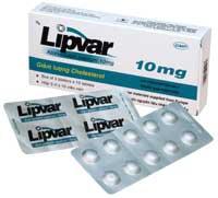 Lipvar 10 Thuốc hạ cholesterol