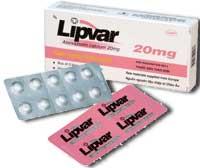 Lipvar 20 Thuốc chống tăng lipid máu nhóm statin