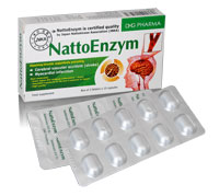 NattoEnzym Giúp làm tan huyết khối (cục máu đông) trong lòng mạch, giúp tăng tuần hoàn máu
