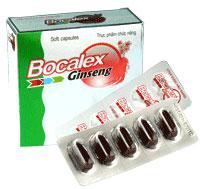 Bocalex Ginseng Thuốc bổ sung vitamin, khoáng chất có kết hợp nhân sâm