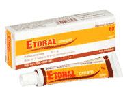 Etoral Cream Kem bôi da trị nấm