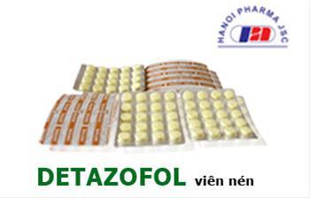 Detazofol - Vỉ 20 viên