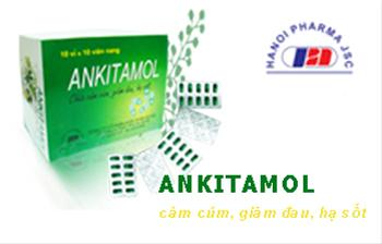 Alkitamol - Cảm cúm, giảm đau, hạ sốt