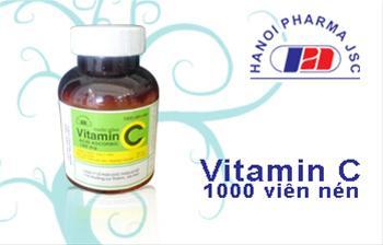 Vitamin C - lọ 1000 viên nén