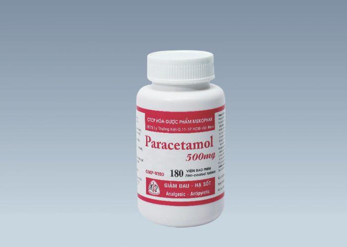 Paracetamol 500mg(chai)