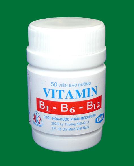 Vitamin B1- B6- B12