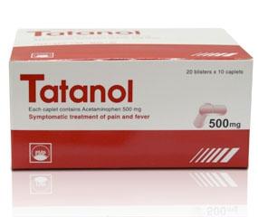 TATANOL 500mg (caplet)