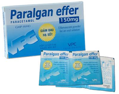 PARALGAN EFFER 150 mg