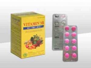Viên nén bao phim Vitamin 3B