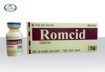ROMCID - Bột pha tiêm