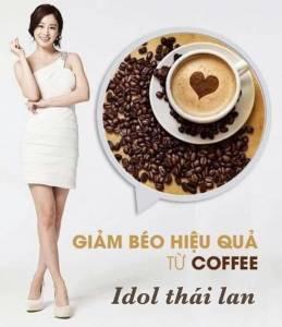 Cafe Giảm Cân Idol Slim Coffee Thái Lan chính hãng
