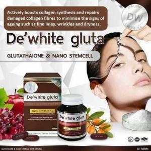 Viên Uống Trắng Da De'White Gluta Thái Lan