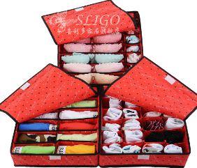 Set 3 Hộp Đựng Đồ Lót