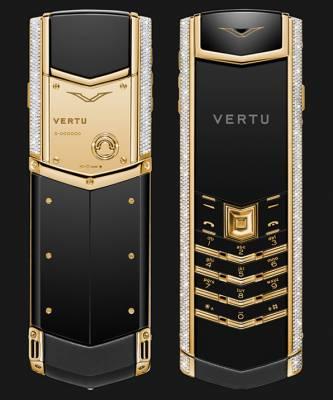 Kết quả hình ảnh cho Vertu Signature S Diamonds