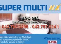 Bảng giá điều hòa multi Daikin 2 chiều Inverter