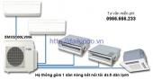 Dàn nóng điều hòa multi Daikin 2 chiều Inverter 5MXS100LVMA 34100BTU