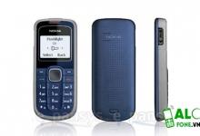 Nokia 1202 chính hãng giá tốt tại Alofone Việt Nam