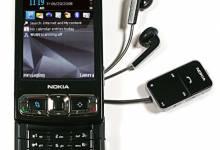 3 dòng sản phẩm Nokia N70, Nokia N73, Nokia N95 thiết bị nghe nhạc cách tân