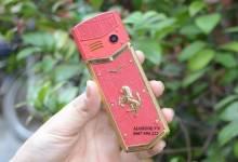 3 mẫu điện thoại vertu có hình con ngựa đẹp mắt