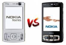 So sánh Nokia N95 2GB và Nokia N95 8GB