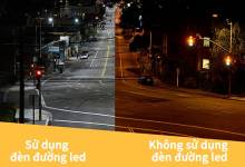 Đèn đường led công suất cao – thiết bị tôn lên vẻ đẹp cho những cung đường