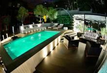 Đèn pha led đổi màu giải pháp tuyệt vời cho chiếu sáng, trang trí hồ bơi