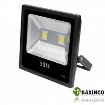 Đèn pha led 12V DC bình ắc qui 100W