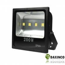 Đèn pha led 12V DC bình ắc qui 200W