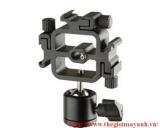 Gá  cài đèn flahs  dùng  cho chân máy ảnh ( 3 đèn )